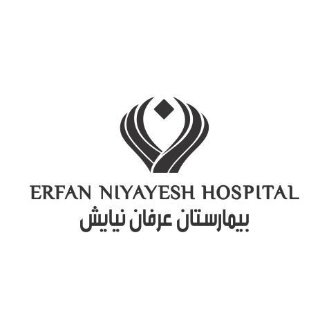 لوگو تابلو بیمارستان عرفان
